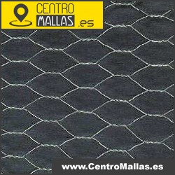 Malla gallinero hexagonal triple torsión 2m. alto 19mm. de hueco