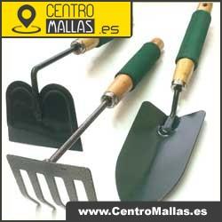 Set de herramientas para jardineria pala rastrillo y azada - Herramientas para jardineria ...